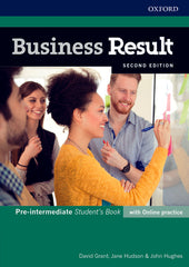 Business Result Second Edition - Pre-intermediate Student's book + online practice