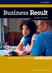 Business Result Second Edition - Intermediate Student's Book + online practice