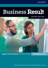 Business Result Second Edition - Upper-intermediate Student's book + online practice