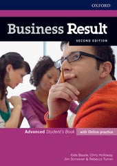 Business Result Second Edition - Advanced Student's book + online practice
