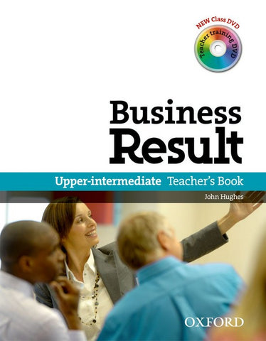 Business Result DVD Edition - Upper-intermediate teacher's book + class dvd +training dvd