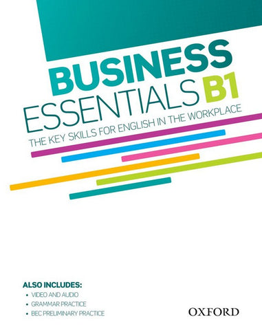Business Essentials: The Key Skills for English in the Workplace book + dvd