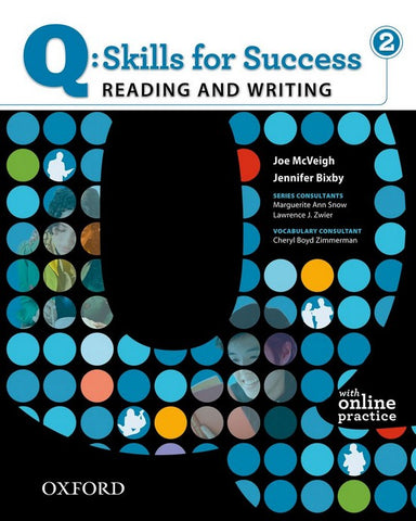 Q: Skills for Success- Reading and Writing 2 student book + online practice