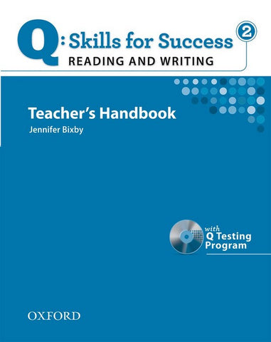 Q: Skills for Success- Reading and Writing 2 teacher's book + testing program cd-rom