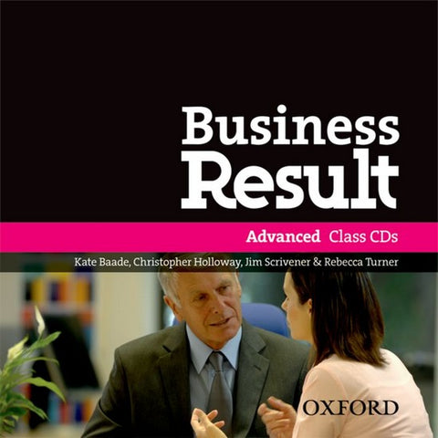 Business Result DVD Edition - Advanced class audio-cd's (2x)