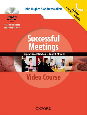 Successful Meetings student's book + dvd pack