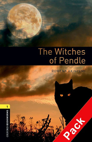 Oxford Bookworms Library 1: The Witches of Pendle book + audio-cd pack