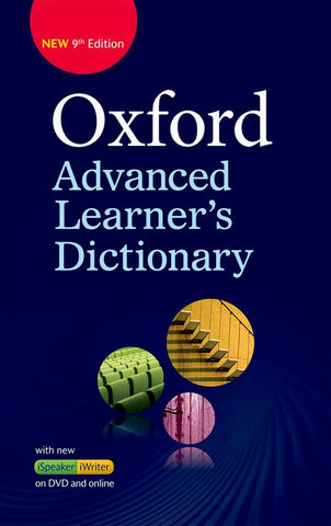 Oxford Advanced Learner's Dictionary hardback + dvd-rom + online access code