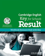 Cambridge English; Key for Schools Result workbook with key + dvd