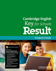Cambridge English; Key for Schools Result student's book + online skills practice