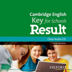 Cambridge English; Key for Schools Result class audio-cd