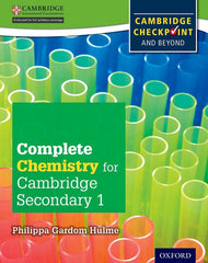 Complete Chemistry for Cambridge Secondary - For CambridgeCheckpoint and Beyond 1 student book