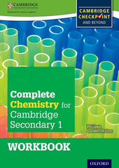 Complete Chemistry for Cambridge Secondary - For CambridgeCheckpoint and Beyond 1 workbook
