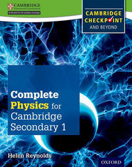Complete Physics for Cambridge Secondary - For Cambridge Checkpoint and Beyond 1 student book