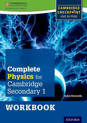 Complete Physics for Cambridge Secondary - For Cambridge Checkpoint and Beyond 1 workbook