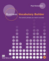 Business Vocabulary Builder book + audio-cd