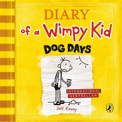 Diary of a Wimpy Kid: Dog Days 4 audio-cd