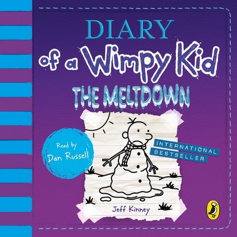 Diary of a Wimpy Kid: The Meltdown 13 audio-cd