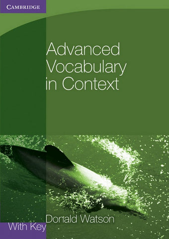 Advanced Vocabulary in Context book with key
