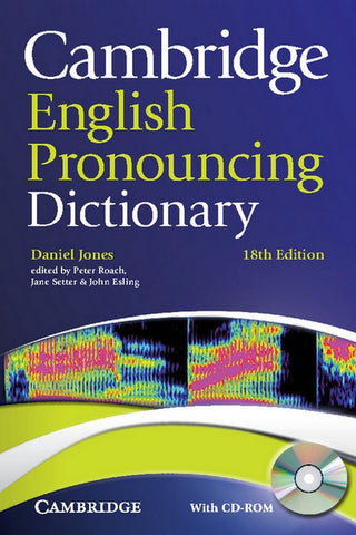 Cambridge English Pronouncing Dictionary book + cd-rom for windows and mac