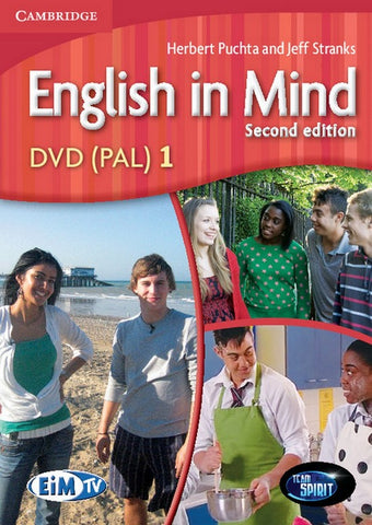 English in Mind - second edition 1 dvd (pal)