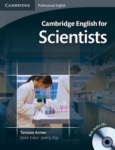 Cambridge English for Scientists student's book + audio-cd