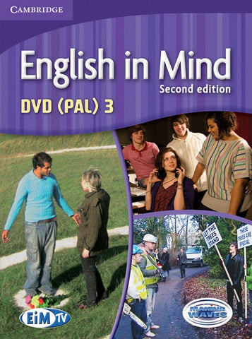 English in Mind - second edition 3 dvd pal