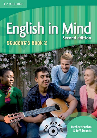 English in Mind - second edition 2 student's book + dvd-rom
