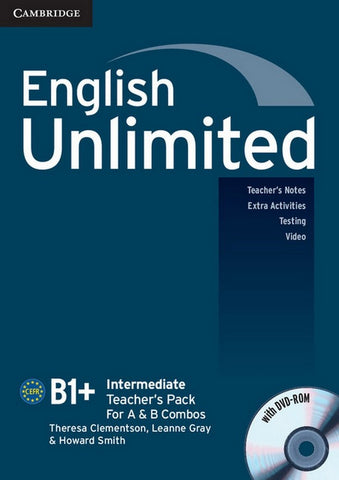 English Unlimited - Intermediate Teacher's Pack + DVD-ROM