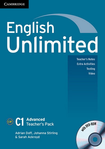 English Unlimited - Advanced Teacher's Pack + DVD-ROM