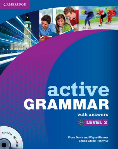 Active Grammar 2 book with answers + cd-rom