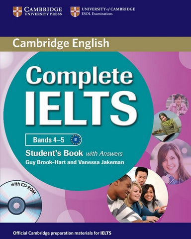 Complete IELTS Bands 4-5 B1 student's book with answers + cd-rom