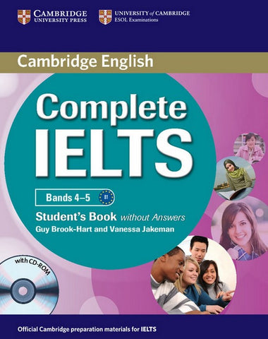 Complete IELTS Bands 4-5 B1 student's book without answers + cd-rom