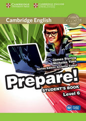 Cambridge English Prepare! 6 student's book