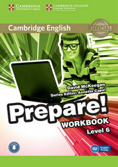 Cambridge English Prepare! 6 workbook + audio download