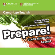 Cambridge English Prepare! 6 class audio-cd's (2x)
