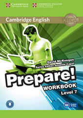 Cambridge English Prepare! 7 workbook + audio download