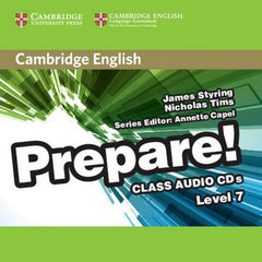 Cambridge English Prepare! 7 class audio-cd's (2x)