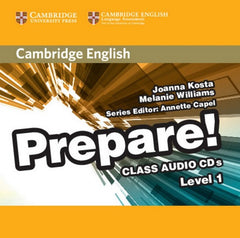 Cambridge English Prepare! 1 class audio-cd's (2x)
