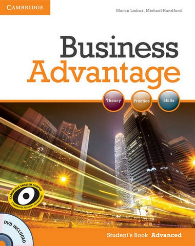 Business Advantage - Advanced student's book + dvd