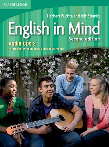 English in Mind - second edition 2 class audio-cd's (3x)