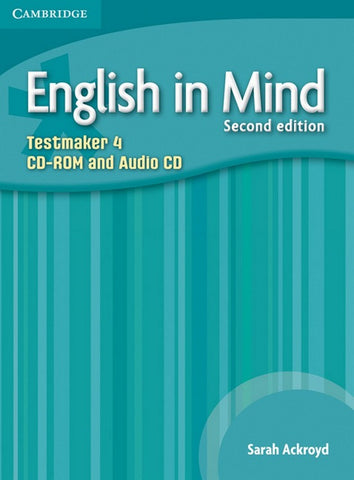 English in Mind - second edition 4 testmaker audio-cd/cd-rom