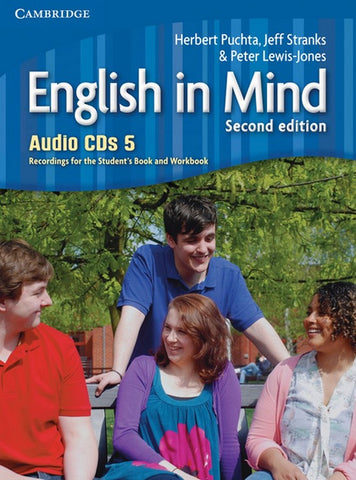 English in Mind - second edition 5 class audio-cd's (4x)