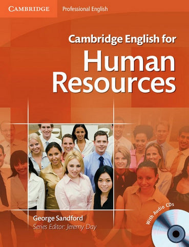 Cambridge English for Human Resources student's + audio-cd's (2x)