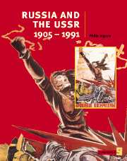 Cambridge History Programme 4: Russia and the USSR 1905-1991