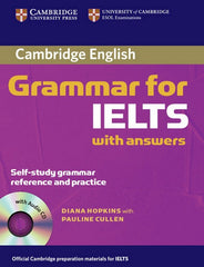 Cambridge Grammar for IELTS book with answers + audio-cd