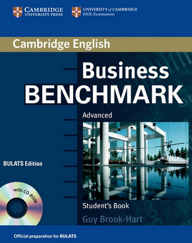 Business Benchmark - Advanced - BULATS edition student's book + cd-rom