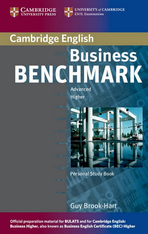Business Benchmark - Advanced - BEC and BULATS personal study boek