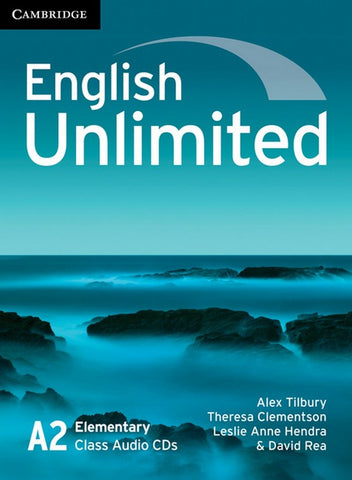 English Unlimited - Elementary Class audio-CDs (3x)