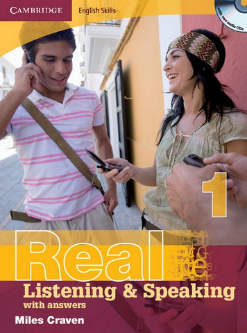 Cambridge English Skills: Real Listening & Speaking with answers 1 book + audio-cd